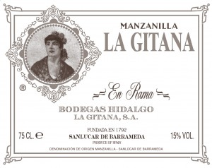 Manzanilla La Gitana en rama
