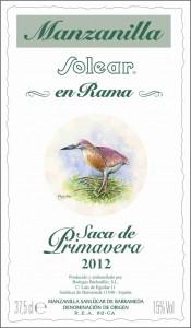 Barbadillo Solear Manzanilla en rama