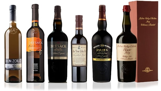 Williams & Humbert sherry range