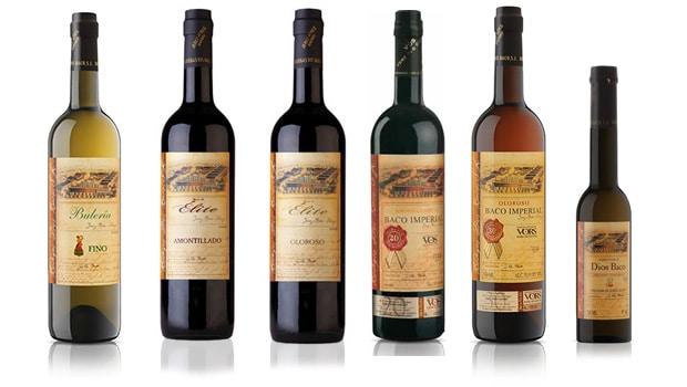 Dios Baco - sherry range