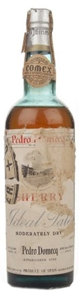 Pedro Domecq Ideal Pale sherry, bottled 1950's