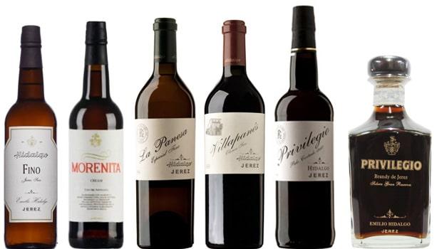 Emilio Hidalgo sherry range (Jerez)