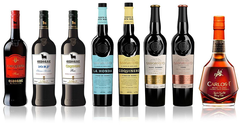Osborne sherry - brandy