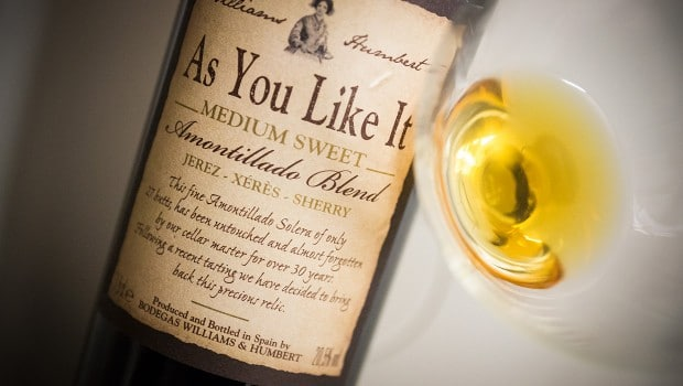 Amontillado: 'As You Like It' Amontillado blend (Williams & Humbert)