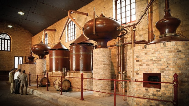 Brandy de Jerez - distillation