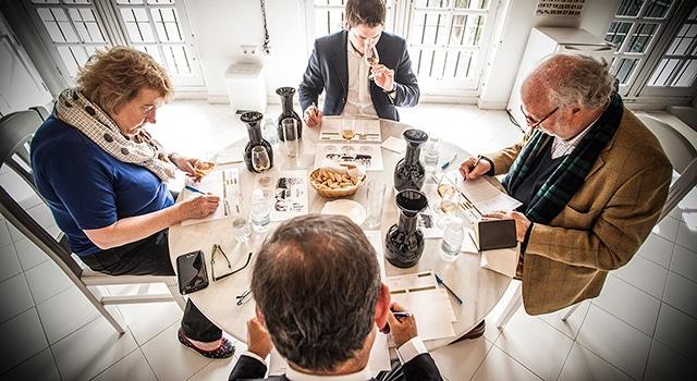 Lustau 3 En Rama - tasting committee