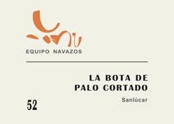 La Bota de Palo Cortado 52 - Sanlucar - Equipo Navazos