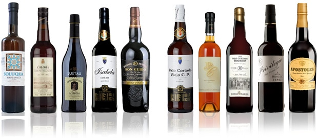 Sherry Twitter Tasting - line-up