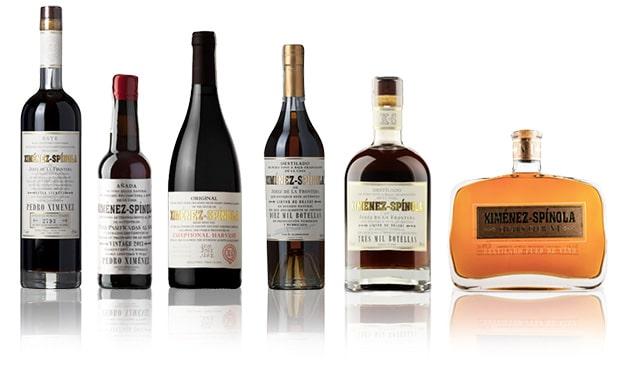 Ximenez-Spinola sherry & brandy