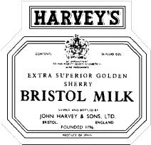 Harveys Bristol Milk