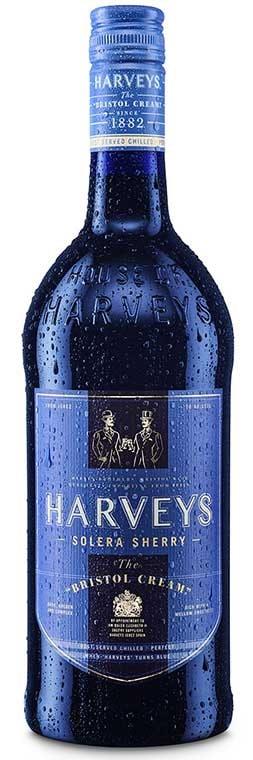 Harveys Bristol Cream - new packaging