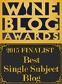 Wine Blog Awards 2015 Finalist
