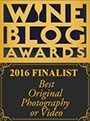 Wine Blog Awards 2016 Finalist - Best photography