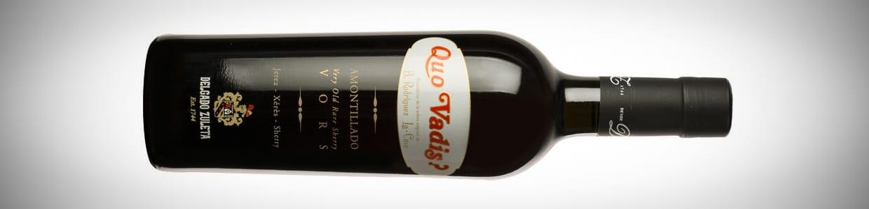 Amontillado Quo Vadis? - the new bottle design