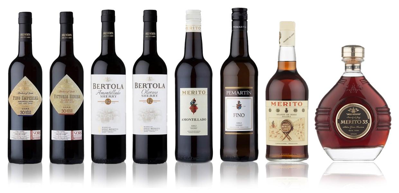 Díez Mérito sherry range