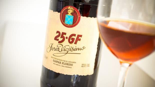 Palo Cortado: 25-GF Jerez Viejísimo (Gaspar Florido)