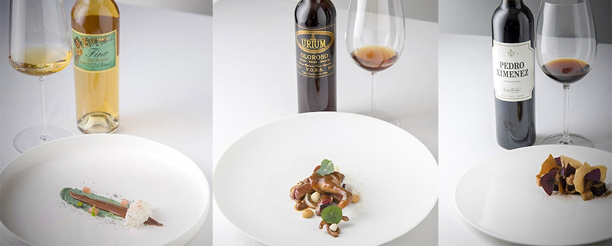 Copa Jerez - sherry and food pairing contest
