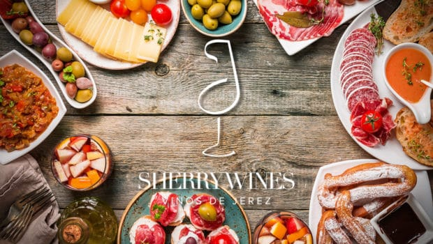 Background: Wine pairing: sherry with food