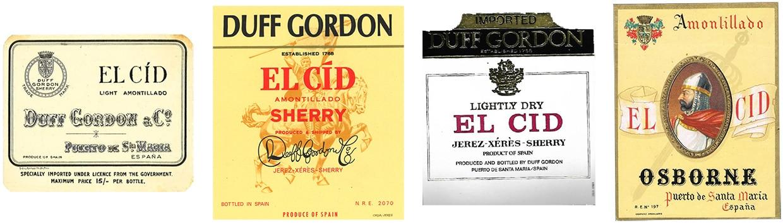 Amontillado El Cid - Duff Gordon