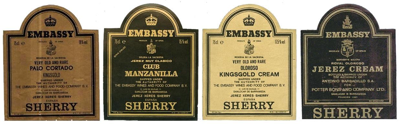 Embassy sherry - Barbadillo