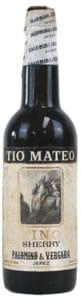 Tio Mateo Fino sherry