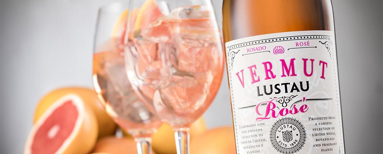 Lustau vermouth rose