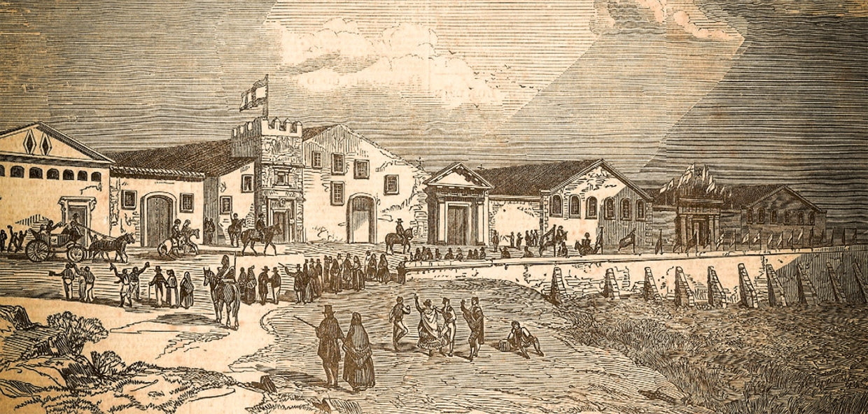 Bodegas Pedro Domecq in 1849