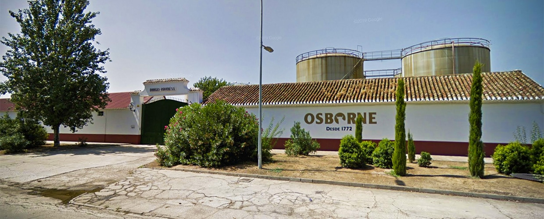 Osborne distillery Tomelloso