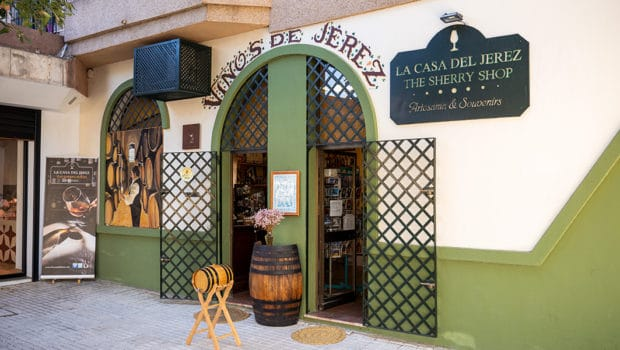 Background: Sherry shops in Jerez