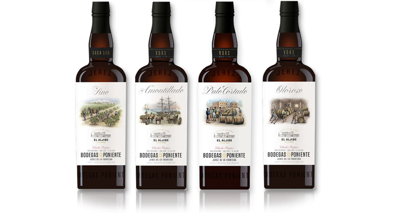 Bodegas Poniente - sherry wines