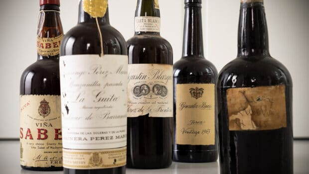 Background: Bottle ageing: a guide to old bottles of sherry
