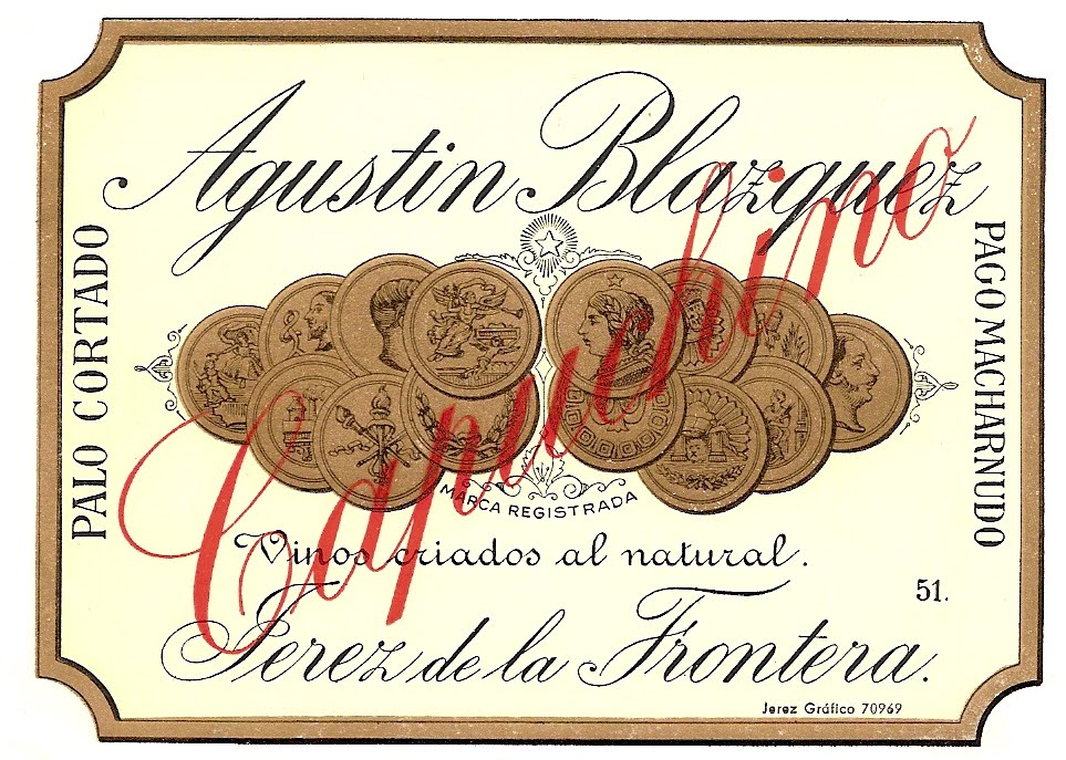 Palo Cortado Capuchino - Agustin Blazquez