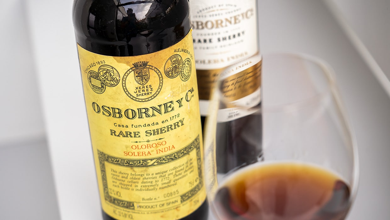 Oloroso Solera India - Osborne sherry