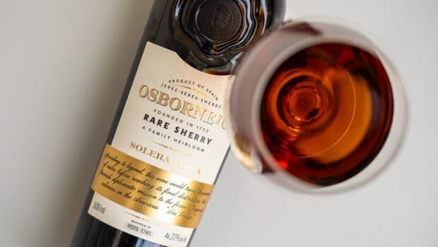 Osborne Solera India - Rare Sherry