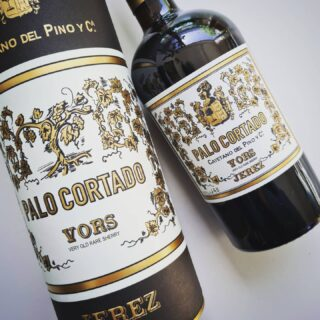 The new Palo Cortado VORS from Cayetano del Pino. The first certified 30+ year old expression from this specialist in Palo Cortado. From a single cask so only 150 numbered bottles available. Very curious!